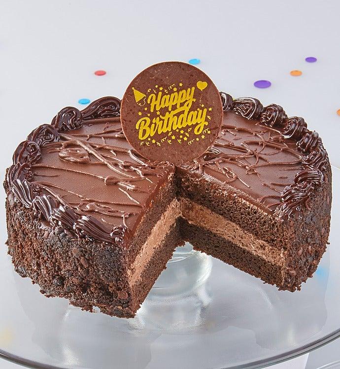 Bake Me A Wish! Chocolate Mousse Birthday Cake