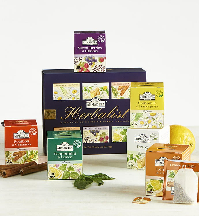 Ahmad of London Herbalist Tea Collection