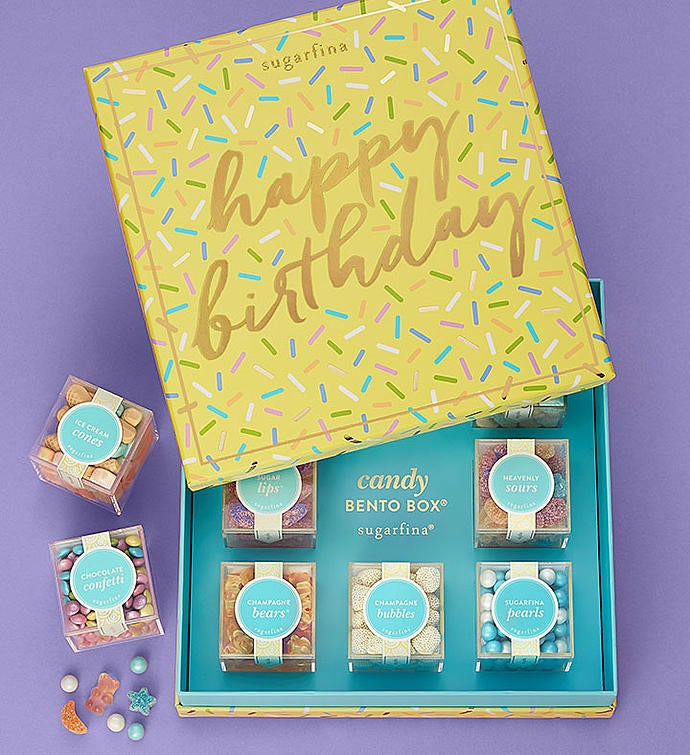 Sugarfina Happy Birthday Candy Bento Box®