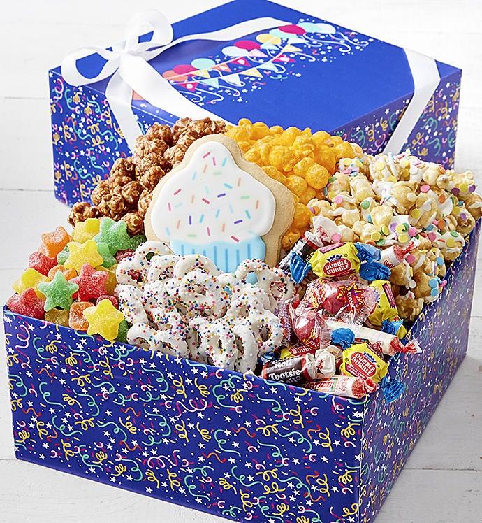 The Popcorn Factory Birthday Balloons Sampler