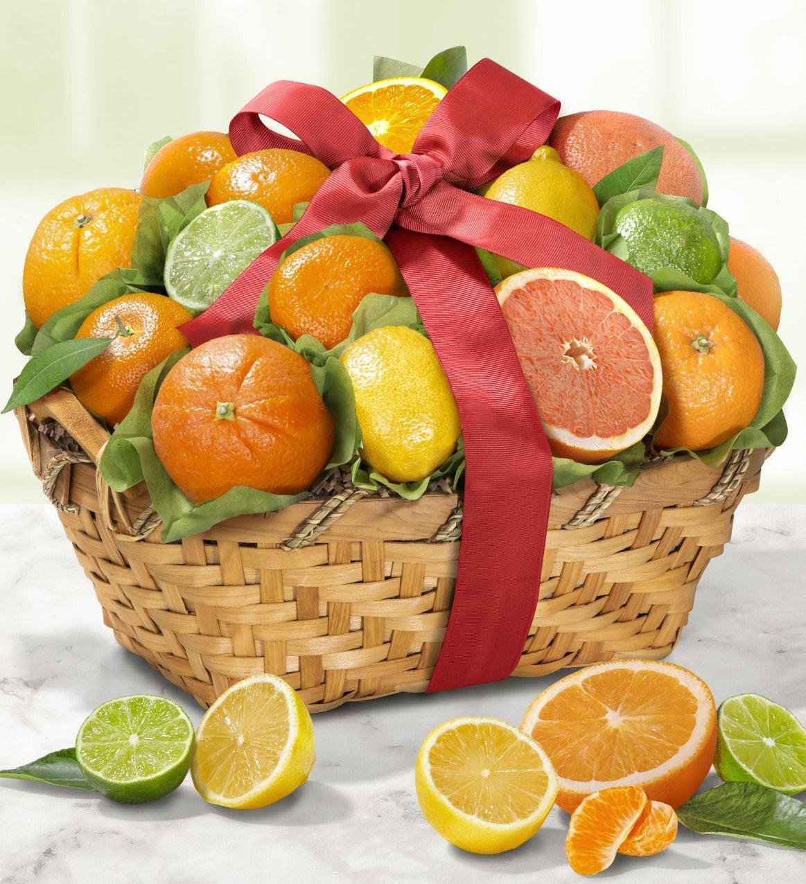 Welcome Sunshine Citrus Fruit Basket