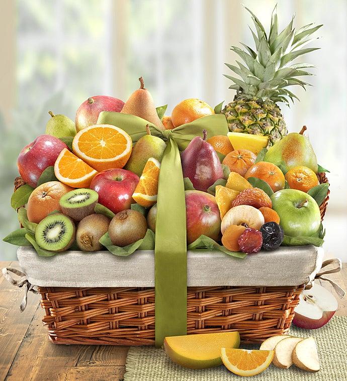 Premier Orchard Deluxe Fruit Gift Basket